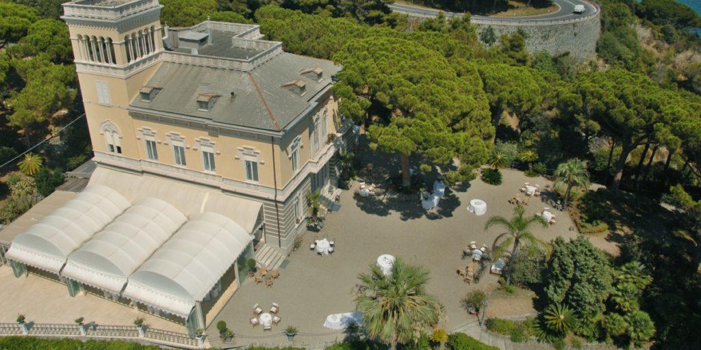 1_Panoramica aerea - Villa Lagorio